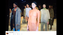 Le défilé de Kanye West pendant la Fashion Week 2016.