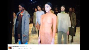 Le défilé de Kanye West pendant la Fashion Week 2016.