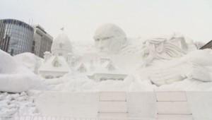 Neige - Japon - Festival de la neige - Sapporo