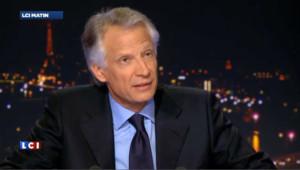 """Villepin : """"sauf miracle républicain je n'aurai pas les 500 parrainages"""""""