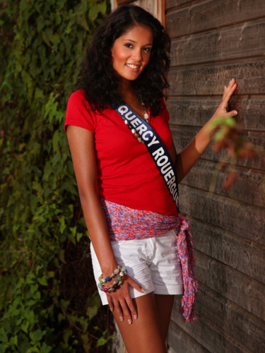 Miss Quercy Rouergue 2009 - Nathalie Ample : Candidate Miss France 2010