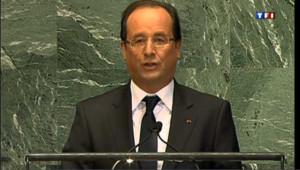 """A l'ONU, Hollande souligne """"l'urgence"""" d'une action en Syrie et au Sahel"""