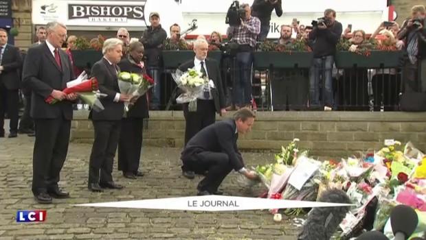 L'hommage de David Cameron à la députée Jo Cox, assassinée par un partisan néo-nazi
