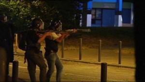 Les forces de l'ordre mobilisées à Grenoble (18 juillet 2010)