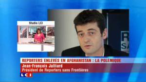 10 millions pour les journalistes otages en Afghanistan : la réaction de RSF