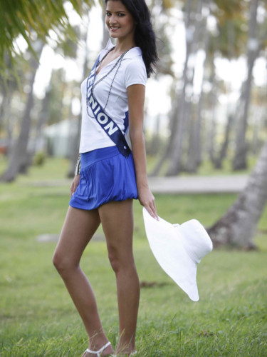 Miss Réunion 2009 - Kim Hoa Barutaut : candidate Miss France 2010