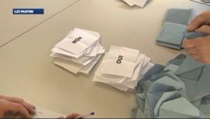 Alsace : bulletin lors du référendum sur la fusion entre Haut-Rhin et Bas-Rhin (7 avril 2013)