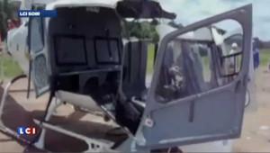 Brésil : un hélicoptère se désintègre au sol avant le décollage