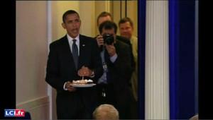 Happy birthday to you, Mister president !