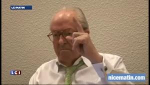 """Jean-Marin Le Pen : les roms sont """"urticants"""" et """"odorants"""""""