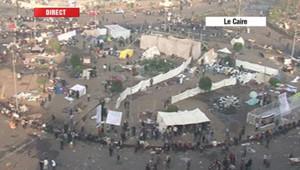 La place Tahrir, au Caire, le 22 novembre 2011.