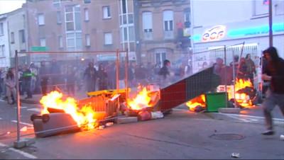 Le 20 heures du 22 novembre 2014 : Mort de R� Fraisse : Toulouse, Nantes%u2026 nouveaux d�rdements en marge des manifestations - 257.6