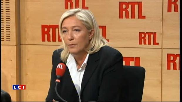 """Le Pen: """"Demain, peut-être 100.000 personnes manifesteront à Paris"""""""