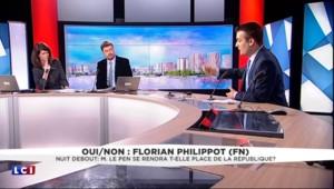 """#NuitDebout : pour Florian Philippot, """"c'est très bien mais il faut voter pour changer les choses"""""""