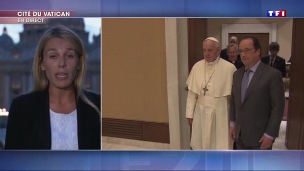 """Rencontre entre le pape et François Hollande : """"Un entretien long et chaleureux"""""""
