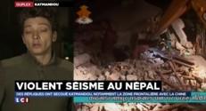 """Séisme au Népal : entre """"40 et 80 secousses"""" ressenties sur place depuis samedi"""