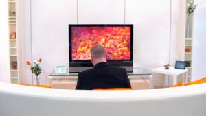 TV télévision télé écran salon