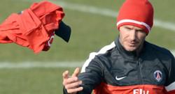 David Beckham, joueur du PSG