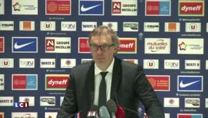 """Football : """"Le PSG ne veut pas s'arrêter là"""" insiste Blanc"""
