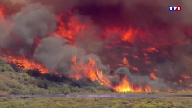 Incendie en Californie : l'état d'urgence décrété, 80.000 personnes évacuées