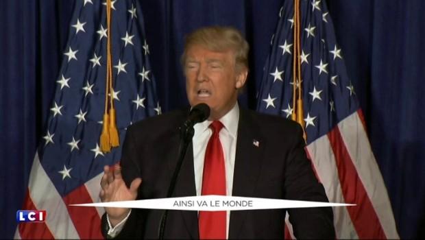"""""""L'Amérique d'abord"""" : Trump dévoile les grandes lignes de sa politique étrangère"""