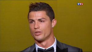 Le 20 heures du 13 janvier 2014 : Ballon d'or 2013 : Cristiano Ronaldo sacr�eilleur joueur - 1870.625