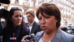 Les rumeurs de non-candidature d'Aubry créent des tensions au PS