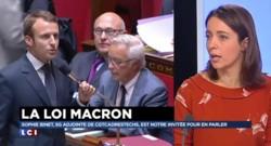"""Loi Macron : """"Des reculs pour les salariés, des avancées pour la finance"""""""