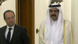 """VIDEO. Hollande pose ses """"conditions"""" à l'investissement du Qatar en France"""