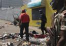 Côte d'Ivoire : 61 personnes sont mortes à Abidjan après une grande bousculade à l'issue des célébrations de la Saint-Sylvestre, le 31 décembre 2012.