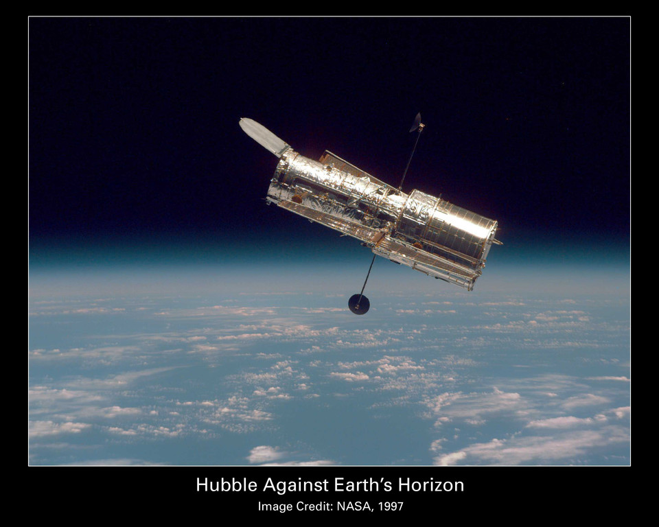 Le téléscope Hubble en 1997