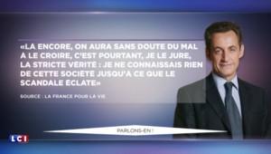 Nicolas Sarkozy entendu dans le cadre de l'affaire Bygmalion