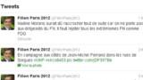 """Fillon sur Twitter à Morano : """"on ne parle pas aux dirigeants du FN"""""""