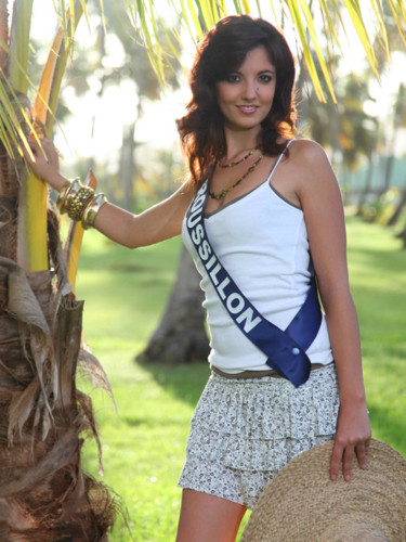 Miss Roussillon 2009 - Céline Callivrousis : Candidate Miss France 2010