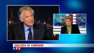 """A l'UMP, trahison, """"problème"""" Dati , et candidature surprise de D. de Villepin"""