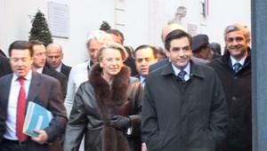 Jean-Louis Borloo, Michèle Alliot-Marie, François Fillon, Hervé Morin