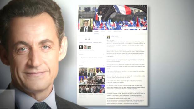 Le 20 heures du 19 septembre 2014 : Le retour de Nicolas Sarkozy officialis�ur les r�aux sociaux - 110.822