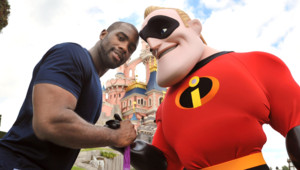 Teddy Riner champion olympique eurodisney Mr Indestructible