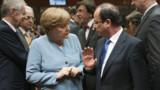 Sommet européen : Hollande et Merkel divisés sur les euro-obligations