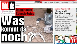 Bild.de : Profanations de cadavres par des soldats allemands en Afghanistan : le site internet du Bild, samedi 28 octobre