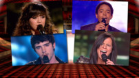 Les 4 finalistes de The Voice