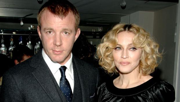 Madonna et son mari Guy Ritchie