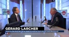 """Républicains : Larcher veut """"des primaires qui permettent d'extraire le meilleur candidat possible"""""""