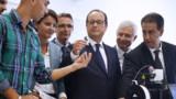 """Hollande annonce """"un grand plan numérique pour l'école"""""""
