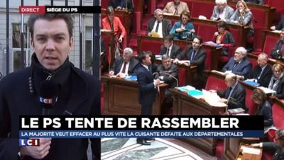 """Au siège du Parti socialiste, un bureau national pour """"ressouder les troupes"""""""