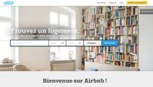 Capture écran du site Airbnb le 21 mai 2014