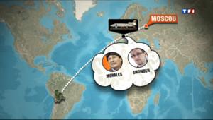 Le 20 heures du 3 juillet 2013 : Snowden soup�n�'�e �ord, l'avion du pr�dent bolivien d�urn� 605.873