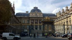 Le palais de Justice de Paris procès correctionnelle assises jugement verdict