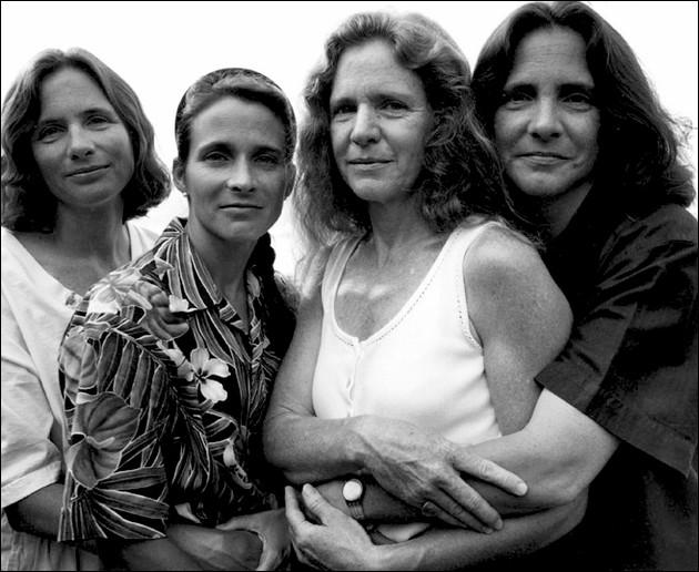 Les soeurs Brown en 1995.