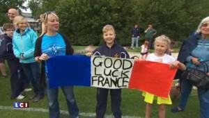 Rugby : le XV de France accueilli chaleureusement par le public anglais